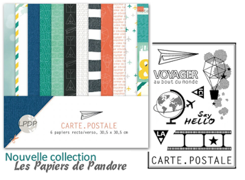 papier de pandore carte postale