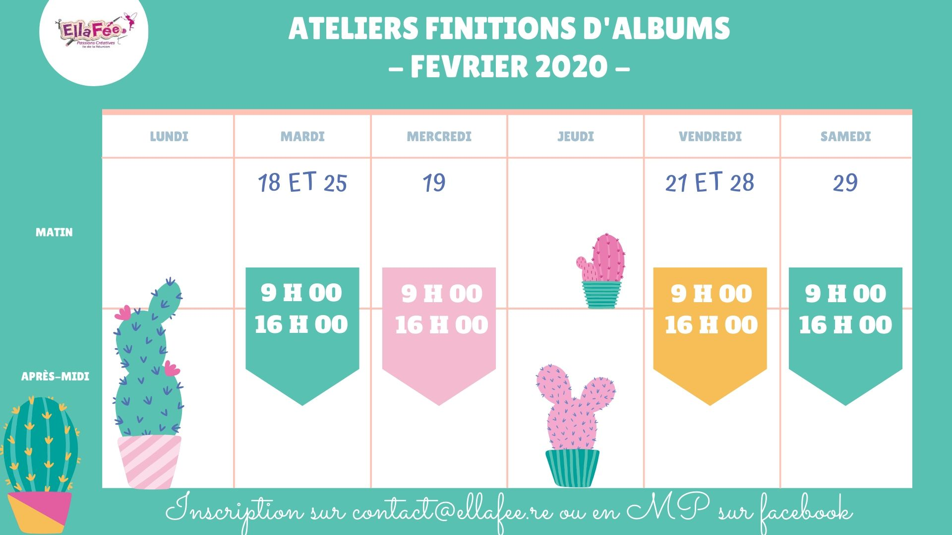 ATELIER FINITION D ALBUM