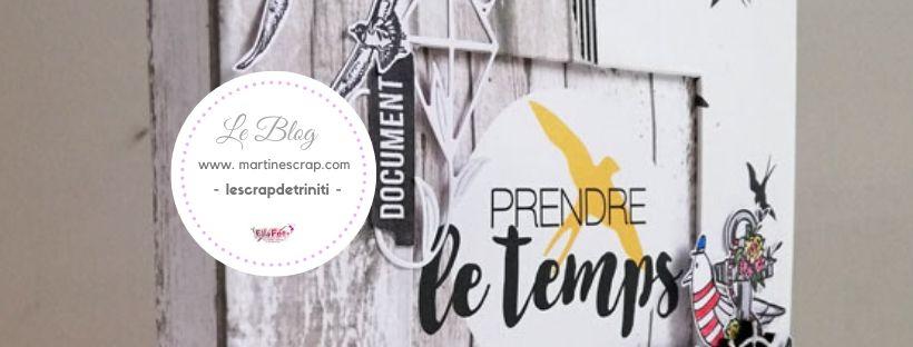 LE SCRAP DE TRINITI PRENDRE LE TEMPS bannière blog